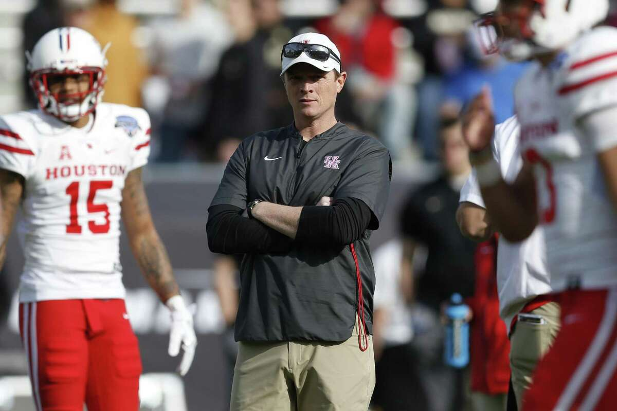 UH coach Major Applewhite, who is 15-11 with three bowl losses in two-plus seasons, would be owed $1.95 million for the remaining three years on his contract if the school decided to fire him.