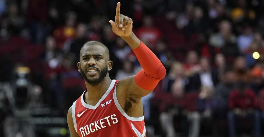 PHOTOS: Rockets game-by-game Houston Rockets' Chris Paul (3) calls a play against the Golden State Warriors during the second half of an NBA basketball game Thursday, Nov. 15, 2018, in Houston. (AP Photo/David J. Phillip) Browse through the photos to see how the Rockets have fared in each game this season. Photo: David J. Phillip/Associated Press