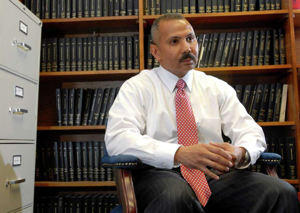 Judge William Carter at Albany City Court in Albany, N.Y. Carter is running for state Supreme Court. (Cindy Schultz / Times Union)