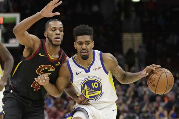 c11e79c2bb7e Warriors rookie Jacob Evans in line for more G League stints ...