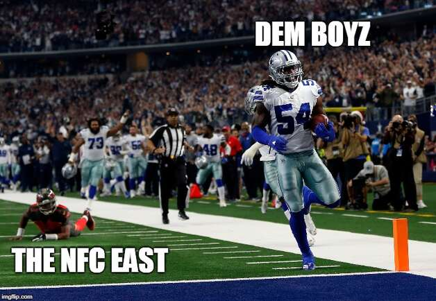 Dallas Cowboys Week 16: Cowboys 27, Buccaneers 20 The Cowboys clinched the NFC East with a home win over Tampa Bay. Photo: Matt Young