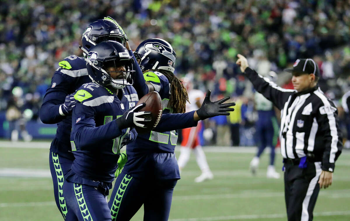 Hill recorded seven tackles, a quarterback hit and a forced fumble in two starts for the Seahawks this season.