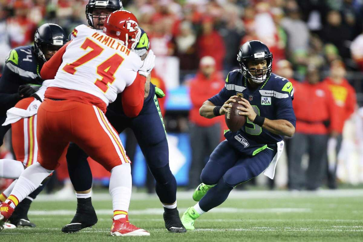 There are other notable factors at play for Wilson entering 2019, too. He's coming off his most efficient season ever. He no longer has the top target of his career in Doug Baldwin, who was released this offseason. And there's the pressure that comes with signing the richest contract in NFL history. He accounts for more than 13 percent of Seattle's 2019 salary cap. Wilson has consistently found ways to elevate his game throughout his career -- all while staying impeccably healthy -- and there will be a bright spotlight on him to continue to do so in 2019. At the backup spot, Paxton Lynch and Geno Smith will continue to battle it out in training camp next week. There is no frontrunner at this point, and the preseason games next month will be the best marker of who's best suited to be Wilson's No. 2