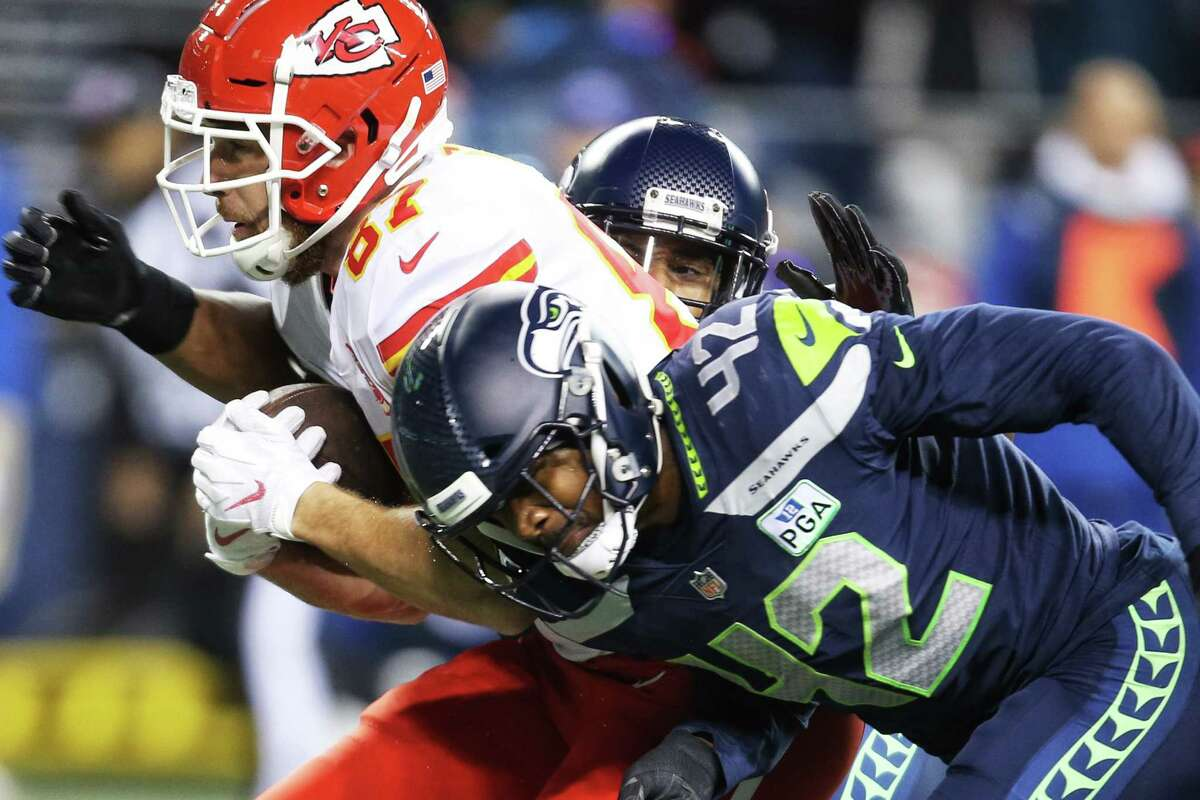 Second-year safety Delano Hill is headed to injured reserve with a hip injury, Seahawks coach Pete Carroll announced Tuesday.