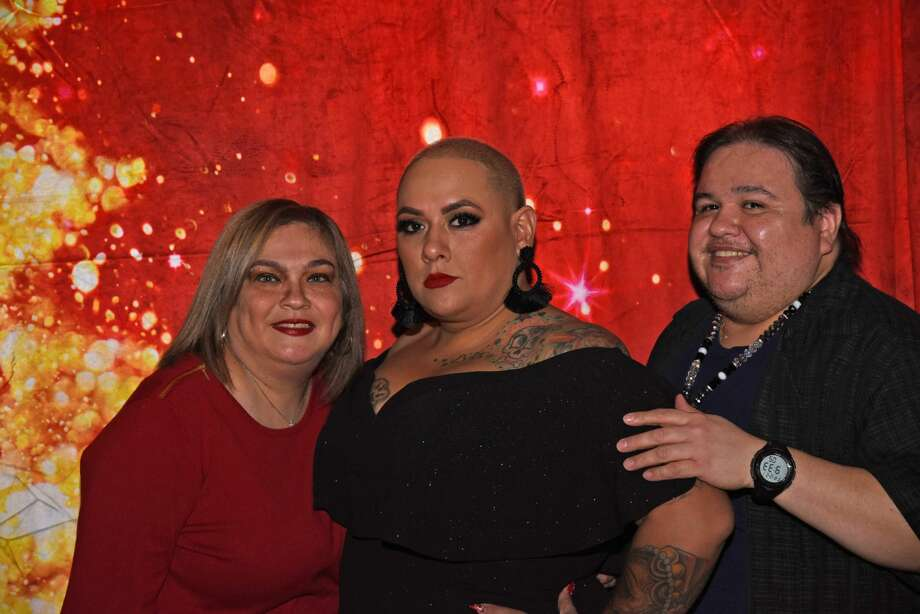 "Keep scrolling to see scenes from ""La Gordiloca's"" birthday bash from Dec. 21, 2018.Cristy Garza, Priscilla ""La Gordiloca"" Villarreal and Ricky Chucky Diaz pose for a photo during ""La Gordiloca's"" Birthday Bash. Photo: Christian Alejandro Ocampo"