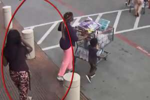 Houston police are searching for a female suspect who allegedly followed a pregnant woman from store to store and robbed her at knifepoint on Oct. 8, 2018. Video of the suspect was recently released.