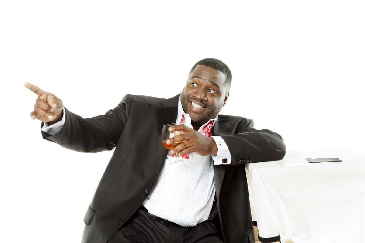 Stand-up comic Corey Holcomb performs at Improv Houston.