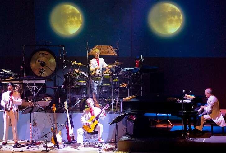 Top-selling Christmas music artist Mannheim Steamroller, led by Chip Davis