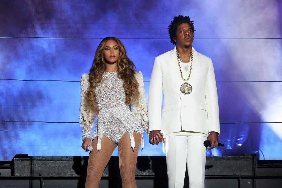Beyonce and Jay-Z perform on the 'On The Run II' tour at NRG Stadium on September 15, 2018 in Houston, Texas.