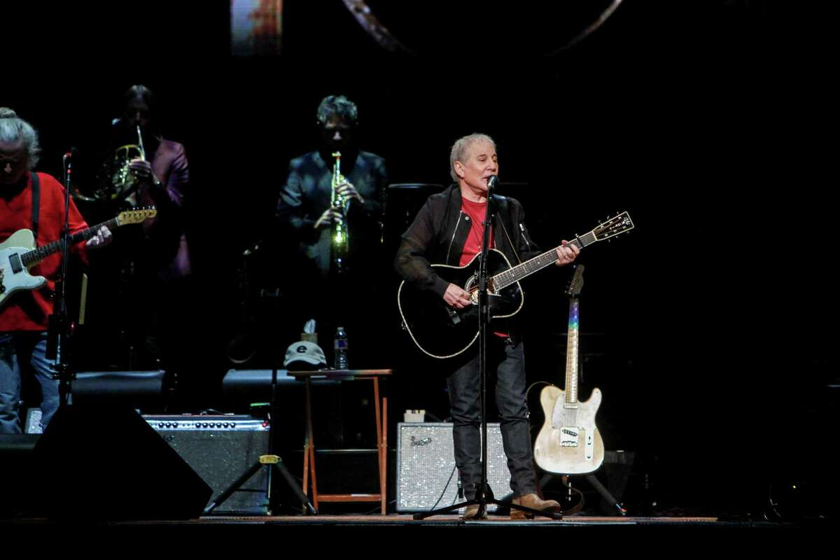 The Paul Simon Homeward Bound tour performance at Toyota Center. (For the Chronicle/Gary Fountain, June 2, 2018)