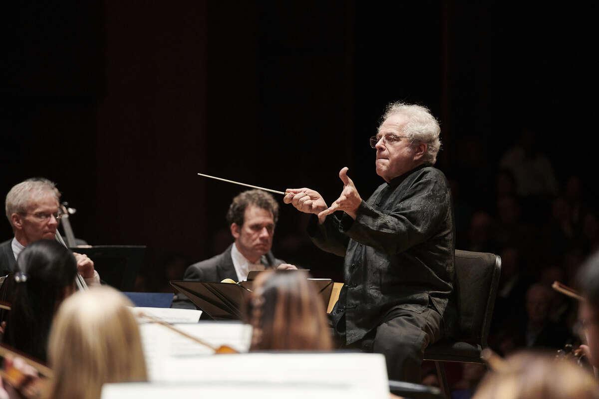 Itzhak Perlman conducting