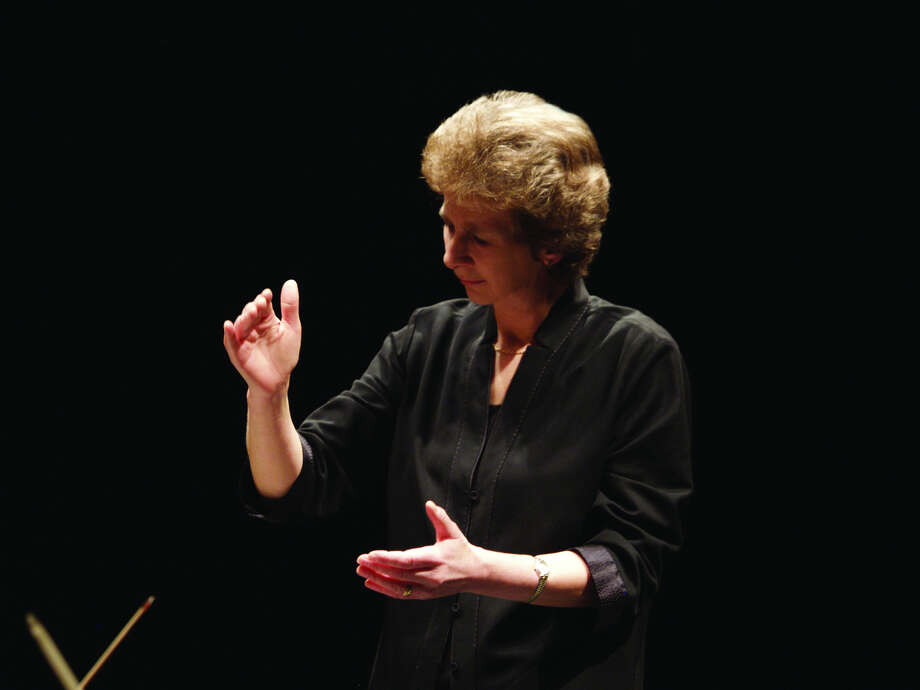"Conductor Jane Glover delivered a stirring ""Messiah"" with the Houston Symphony Photo: Courtesy"