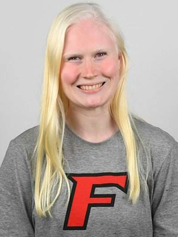 Fairfield swimmer Colleen Young. Photo: Fairfield Athletics