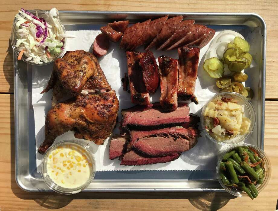 Selection of smoked meats from Burnwood '68. Photo: Paul Stephen / Staff