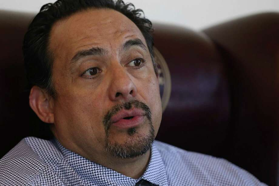 Brewster County Judge Eleazar Cano was recently reprimanded by the State Commission on Judicial Conduct for allowing his name and photo to be used on a political mailer for a state Senate candidate. Photo: JERRY LARA /San Antonio Express-News / © 2015 San Antonio Express-News