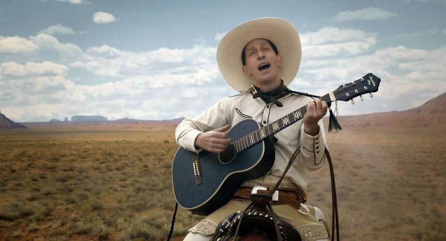 """The Ballad of Buster Scruggs"": Violence and death are the only constants in the Coen brothers' Western anthology of six short films starring Liam Neeson, Tom Waits and James Franco, among others. The moods range from darkly funny to quirky to deeply moving. (Netflix) Photo: Netflix / Netflix"