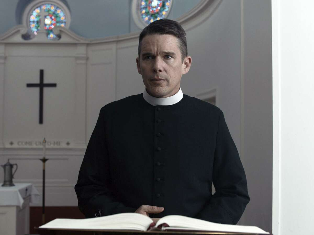 """Ethan Hawke gives one of the year's most acclaimed performances as a preacher at a small, historic church in """"First Reformed."""""""