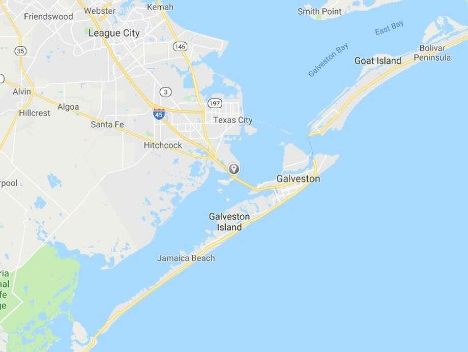 Galveston Map Of Texas.Grass Fire Continues To Burn Near Texas City And Galveston