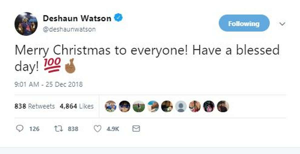 Deshaun WatsonHouston TexansCaption:
