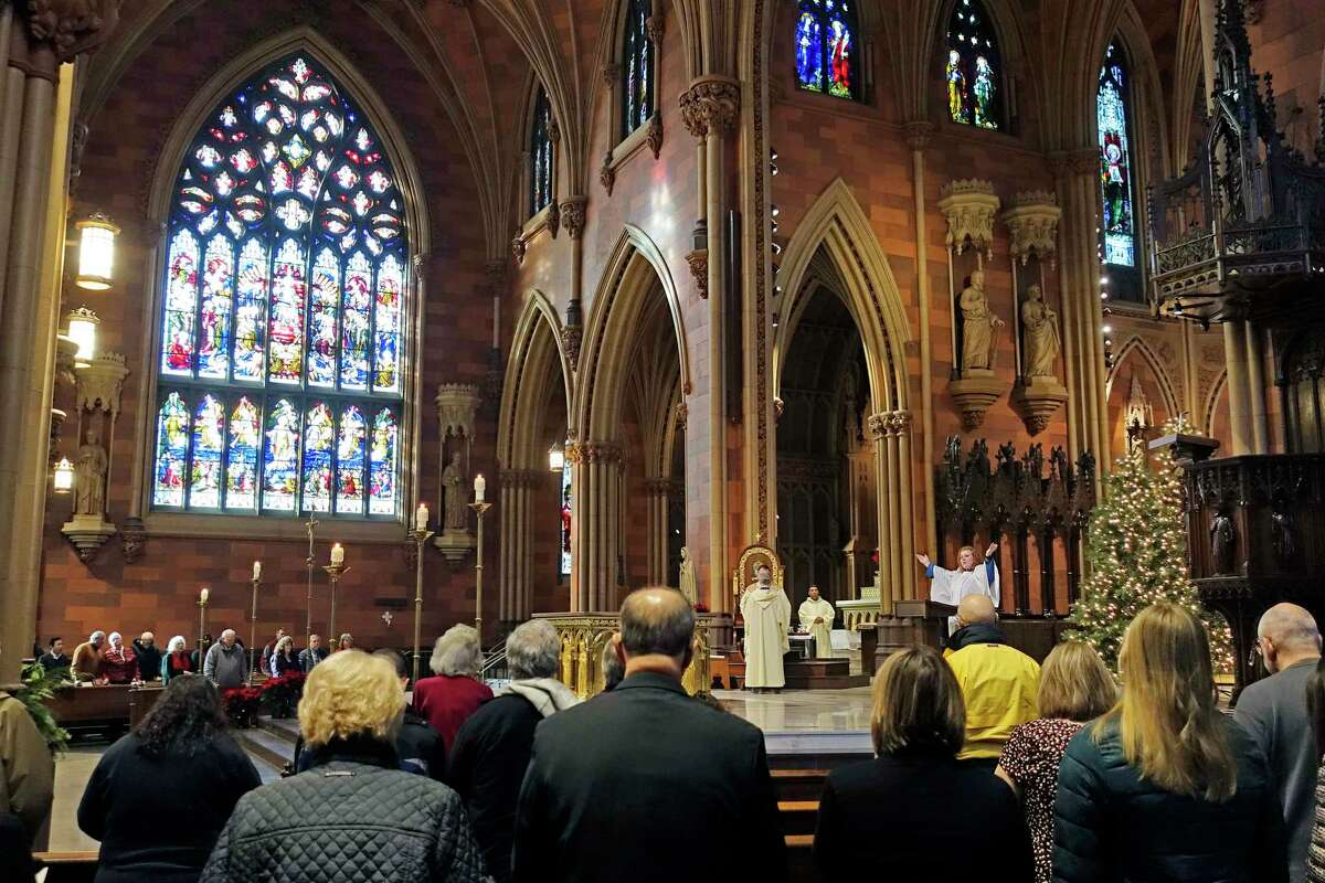 The heart of St. John Vianney, a French priest who died in 1959, will visit the Cathedral of the Immaculate Conception on Friday as part of its national tour.