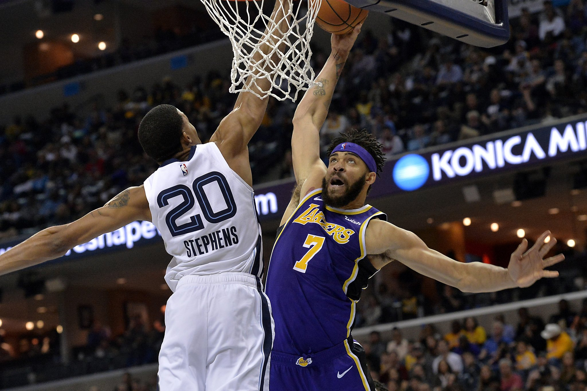 the best attitude cd92d 36b75 Lakers' JaVale McGee to miss Christmas game vs. Warriors ...