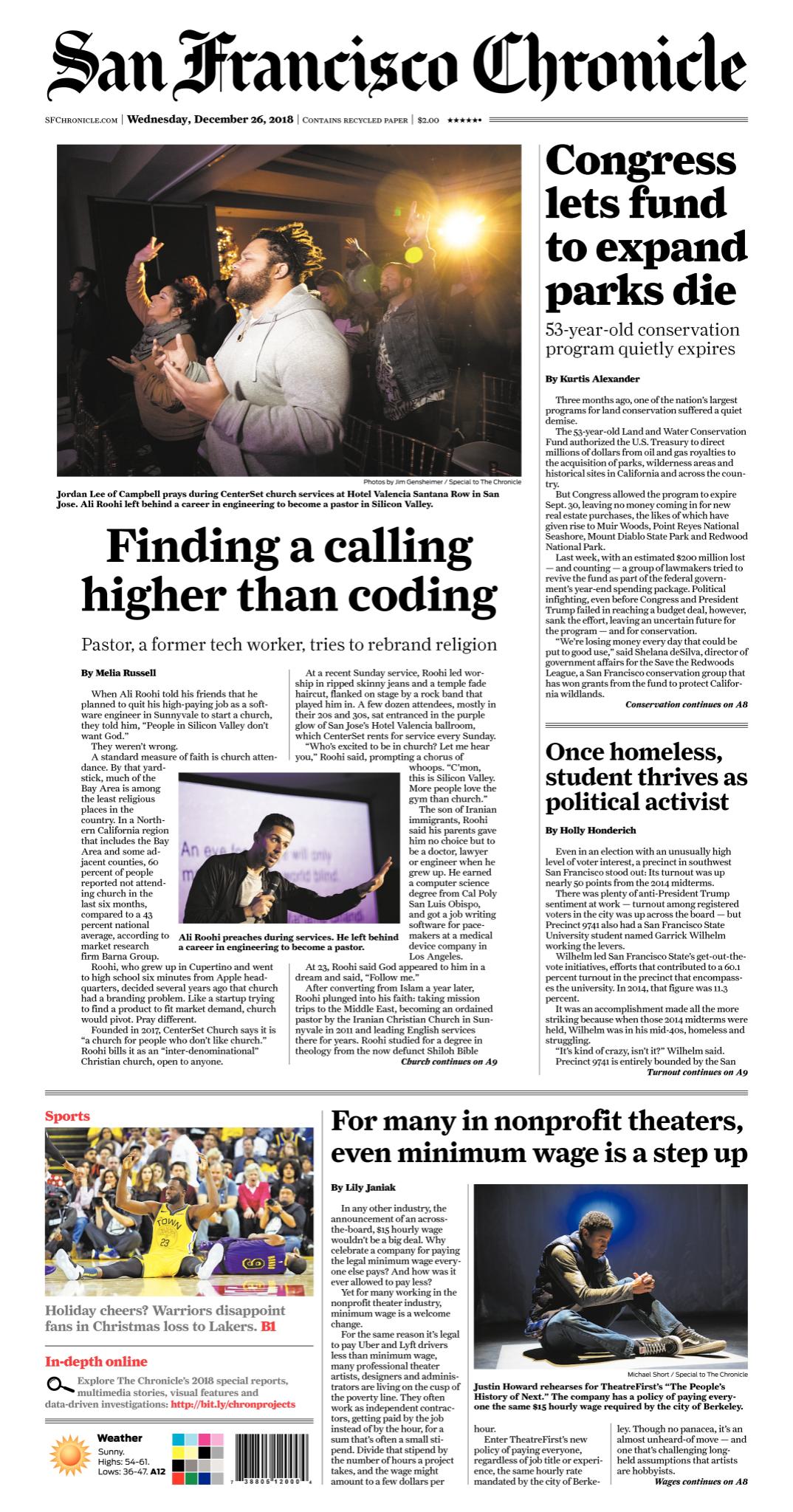San Francisco Chronicle E Edition