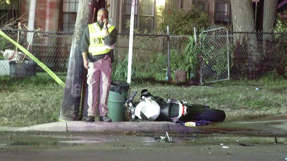 The victim, a man in his 20s, left a party at about 10:10 p.m. and was traveling near West Martin and NW 19th when he hit the back of a sedan. Photo: Ken Branca