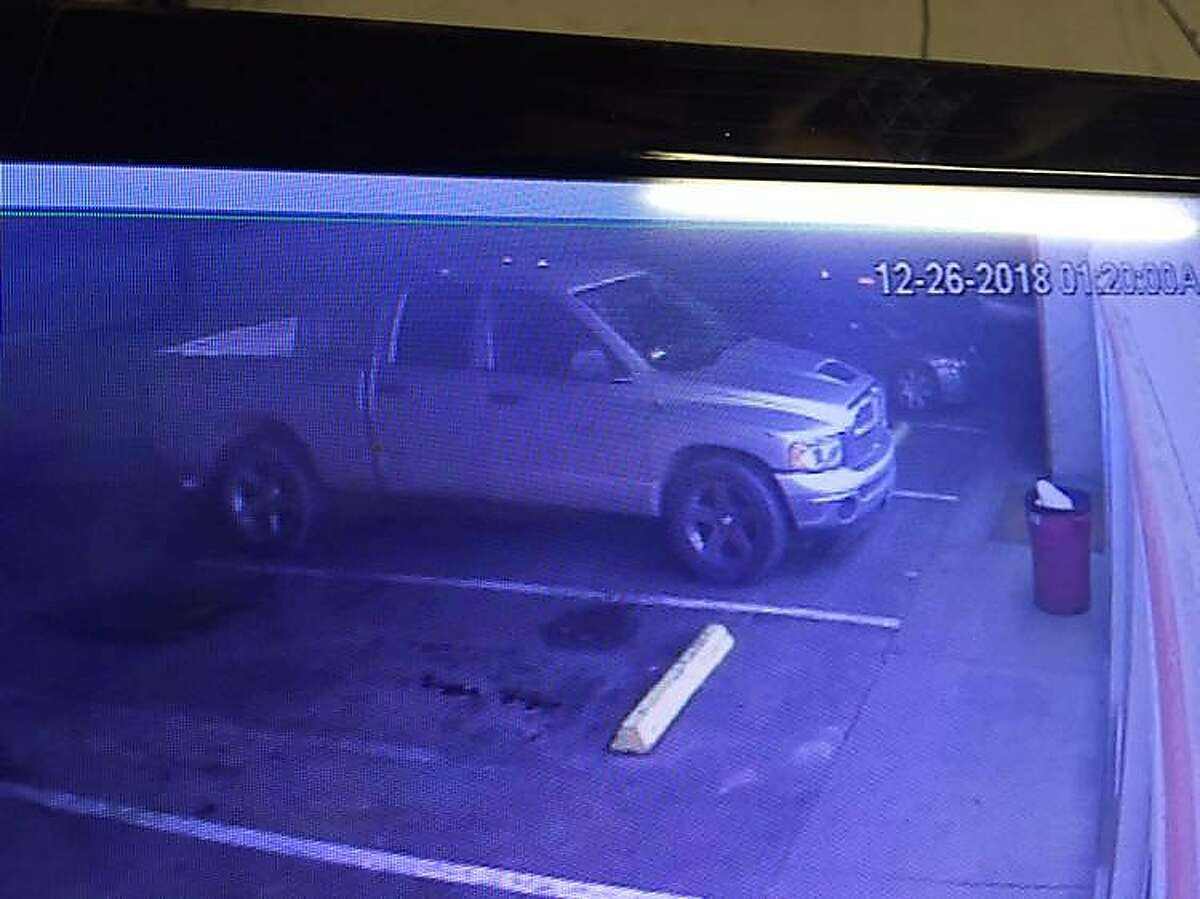 Photos of a suspect vehicle and suspect accused of fatally shooting a Newman police officer early Wednesday.