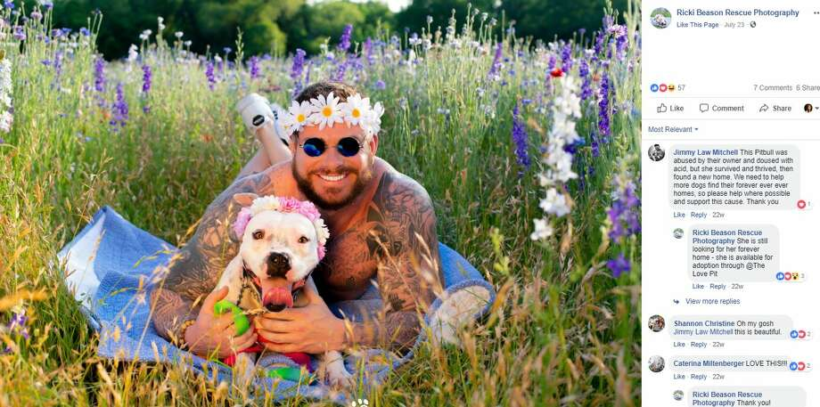 Dad Bods and DogsBenefits: The Love Pit, Rescue Row, and Astasia's Angels Animal Rescue. Photo: Ricki Beason Rescue Photography/Facebook