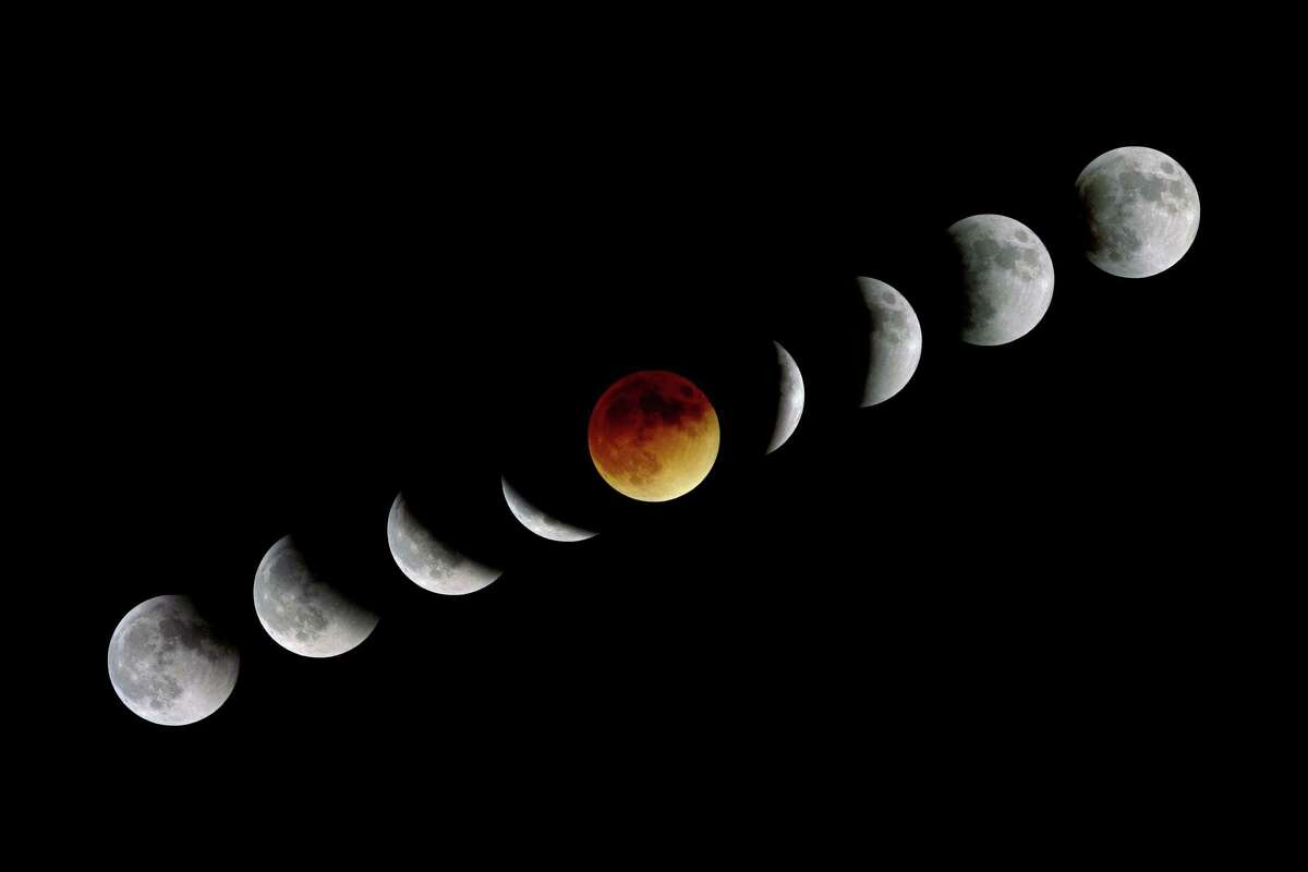 3. While lunar eclipses are fairly common, the