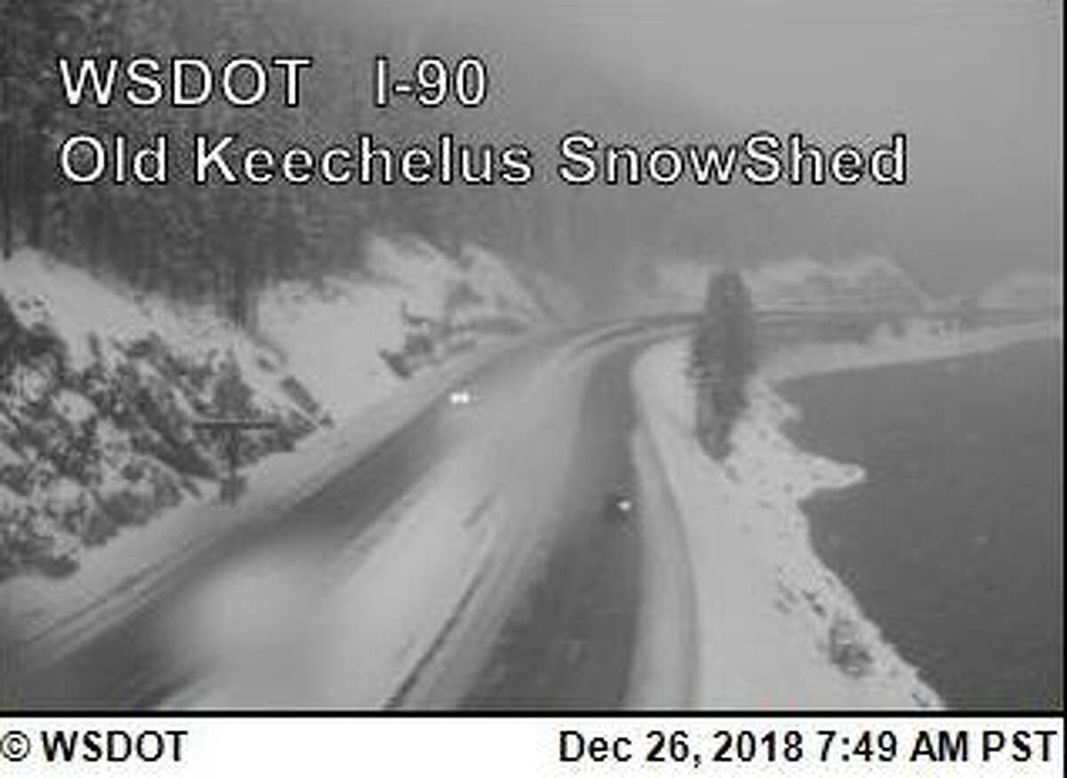 Traction tires are advised over Snoqualmie Pass.