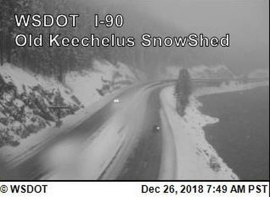 Traction tires are advised over Snoqualmie Pass. Photo: Courtesy WSDOT