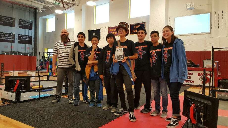 Last month, two teams won judges' and design awards at the competition hosted at Danbury High School. One team qualified for the regionals then and two more qualified with their scores this month. Photo: Submitted Photo / Danbury High School