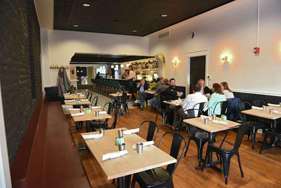 Interior of Dove + Deer restaurant on Wednesday,, Nov. 28, 2018 in Albany, N.Y. (Lori Van Buren/Times Union) Photo: Lori Van Buren / 40045574A