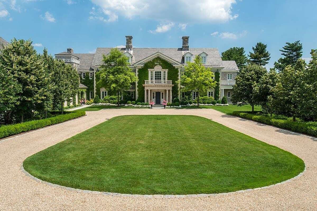 This approximately 16,900-square-foot home, at 110 Clapboard Ridge Road, in Greenwich, Conn., has sold for $17.5 million.