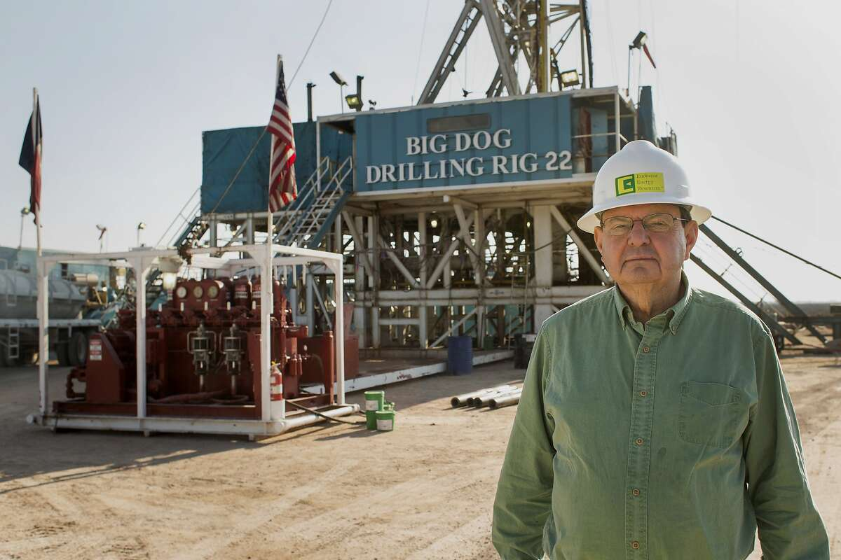 Autry Stephens, chief executive officer of Endeavor Energy Resources LP, stands for a photograph at the company's Big Dog Drilling Rig 22 in the Permian basin outside of Midland, Texas, U.S., on Friday, Dec. 12, 2014.