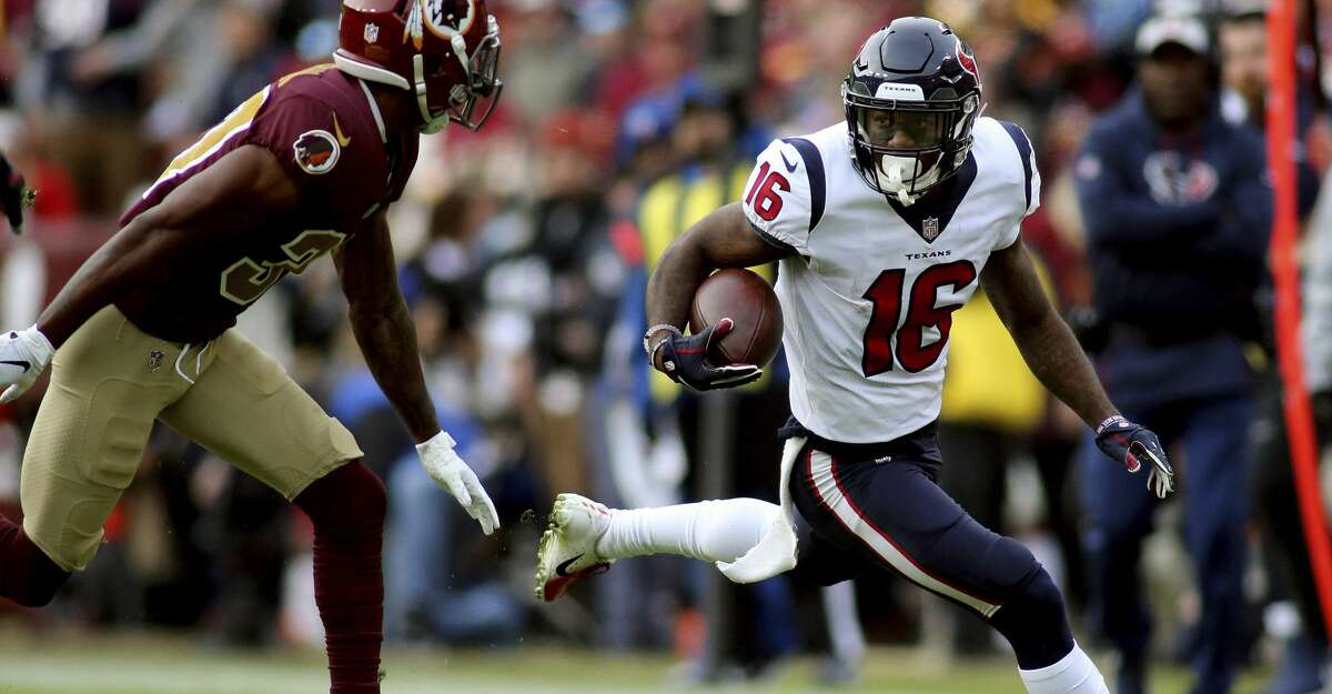 PHOTOS: Current NFL players from Houston Houston Texans wide receiver Keke Coutee (16) in action against the Washington Redskins in an NFL game, Sunday, November 18, 2018 in Landover, Md. (AP Photo/Daniel Kucin Jr.) >>>Browse through the photos for a look at current NFL players who come from Houston ...