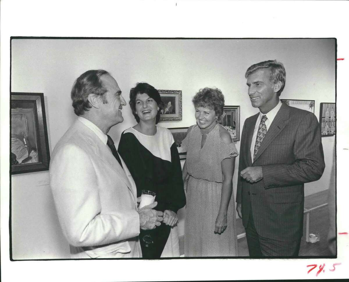 Anderson Todd, left, and daughter Emily Todd, second from left in 1983.