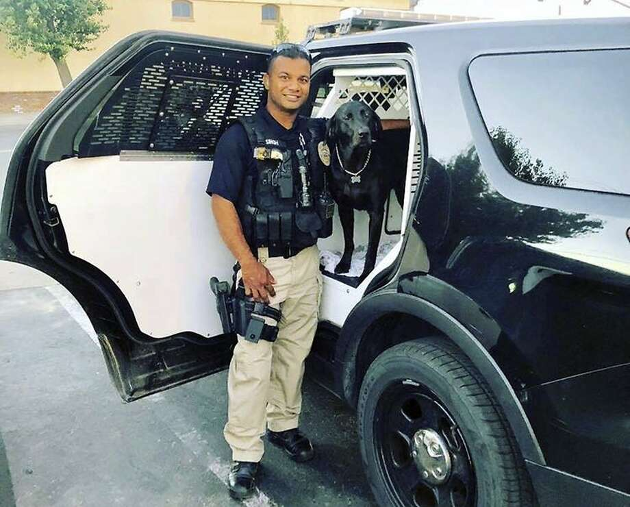 "This undated photo provided by the Newman Police Department shows officer Ronil Singh of Newman Police Department who was killed by an unidentified suspect. The Stanislaus County Sheriff's Department said Singh was conducting a traffic stop early Wednesday, Dec. 26, 2018, in the town of Newman, Calif. when he called out ""shots fired"" over his radio. (Stanislaus County Sheriff's Department via AP) Photo: Associated Press"