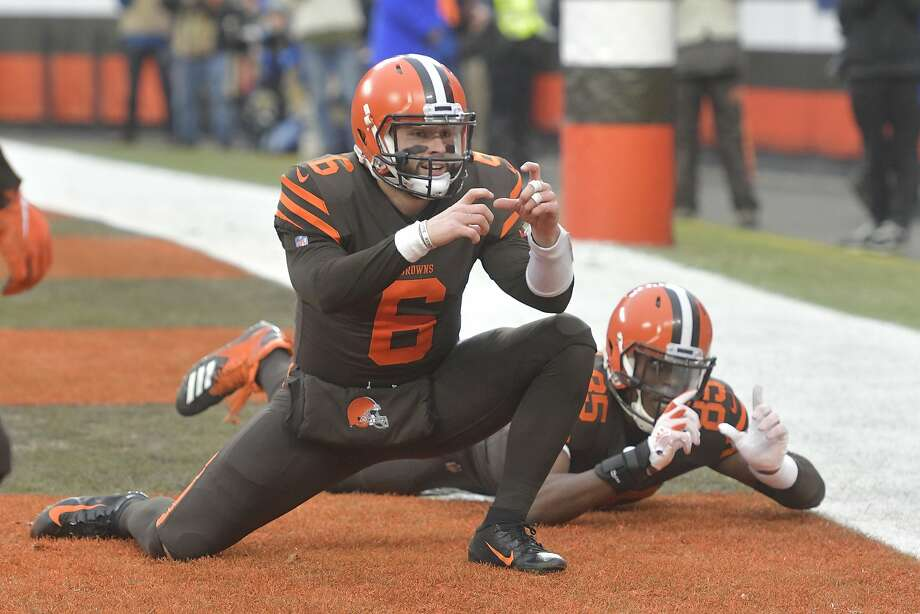 64a08670fa4 Browns  Baker Mayfield makes no apologies for staring down Hue Jackson