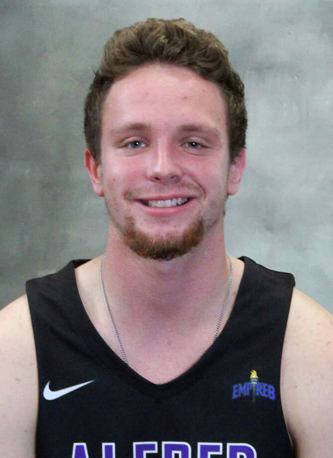 Scotia-Glenville graduate Scotty Stopera of the Alfred University men's basketball team. (Peter Mangels Photography)
