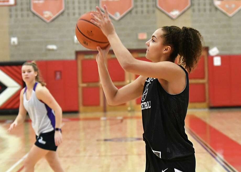 Valencia Fontenelle-Posson at practice on Friday, Dec. 21, 2018 in Guilderland, N.Y. (Lori Van Buren/Times Union) Photo: Lori Van Buren / 20045789A