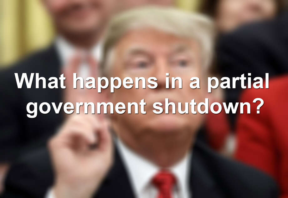 Click through the following slideshow to see what happens in the U.S. during a partial government shutdown. Photo: Win McNamee, Staff / Getty Images