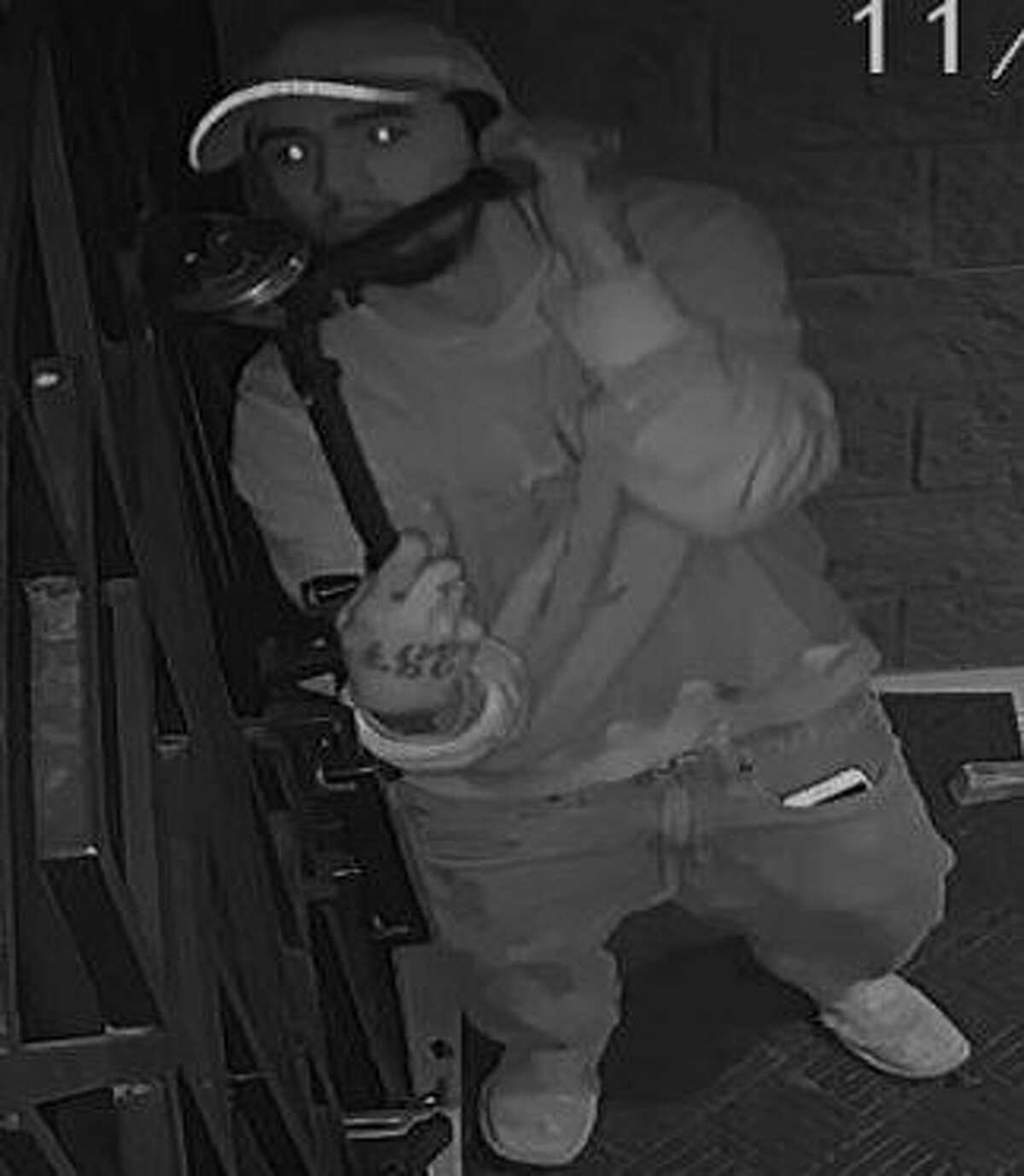 The suspects broke into the Ignite Church in the 700 block of SW 24th St. at about 4 a.m. on Nov. 17 and took three Mac desktop computers and a 55 inch television. They then fled in a white vehicle.