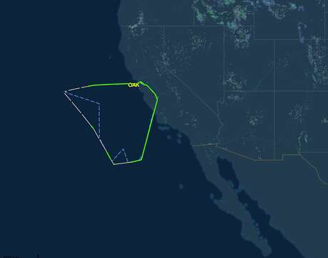 An unusual SouthwestAirlines flight from Oakland appears to be a test flight for ETOPS jets used for Hawaii service. Photo: FlightAware