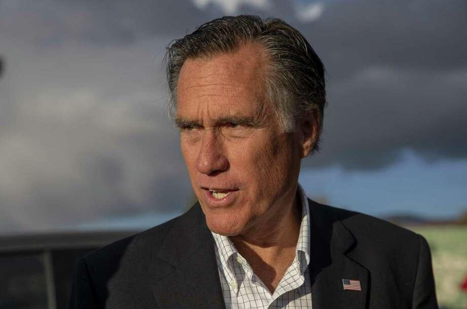 Sen.-elect Mitt Romney, R-Utah. Photo: Bloomberg Photo By Kim Raff / Bloomberg
