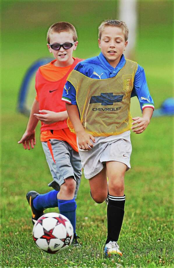 Children play soccer at Pat Kidney Field through the Middletown Recreation Department's program. Photo: File Photo