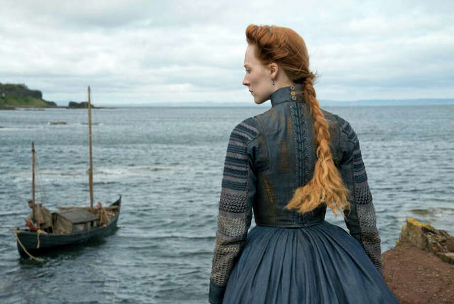 "This image released by Focus Features shows Saoirse Ronan as Mary Stuart in a scene from ""Mary Queen of Scots."" Photo: Liam Daniel/Focus Features Via AP"
