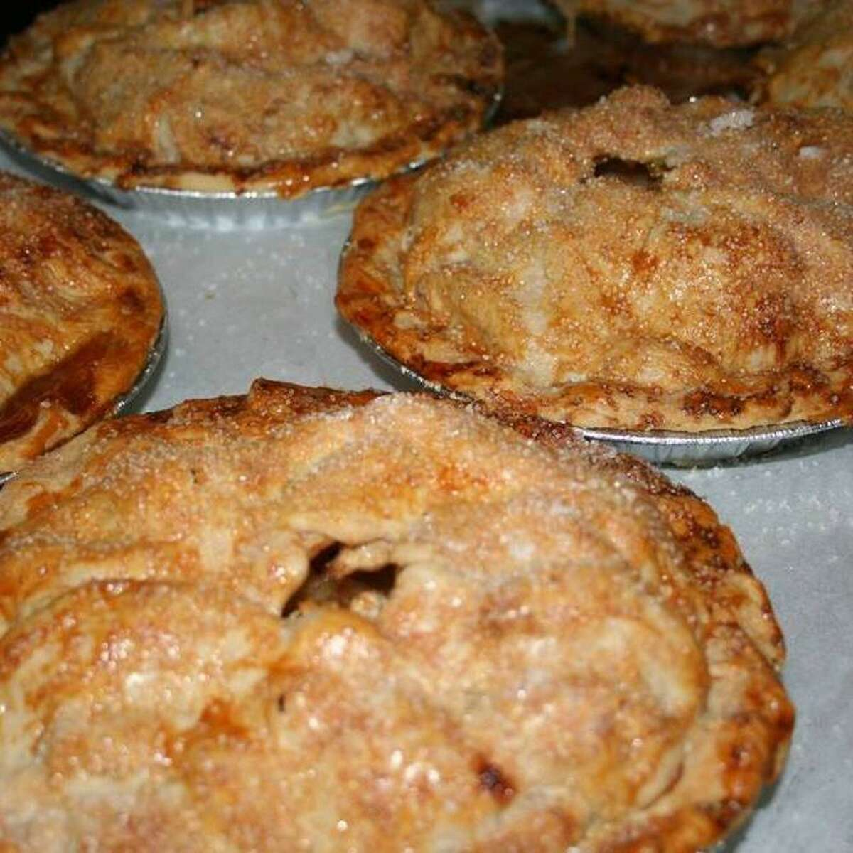 Pies at the Whistle Stop in Branchville look good and taste better.