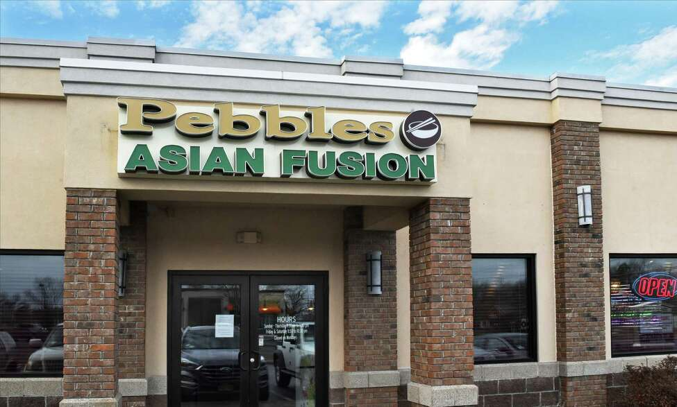Pebbles Asian Fusion restaurant Friday Dec. 14, 2018 in Colonie, NY. (John Carl D'Annibale/Times Union)